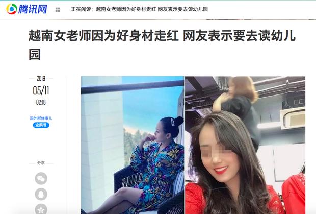 Cô giáo Việt gây sốt trên báo Trung chỉ nhờ một hành động nhỏ rất đáng yêu mà thời đi học ai cũng từng được như thế - Ảnh 1.