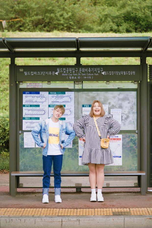 Đức Phúc siêu đáng yêu khi kết đôi cùng cô nàng thánh ăn Hàn Quốc - Yang Soo Bin, kể chuyện tình giảm cân hài hước - Ảnh 3.