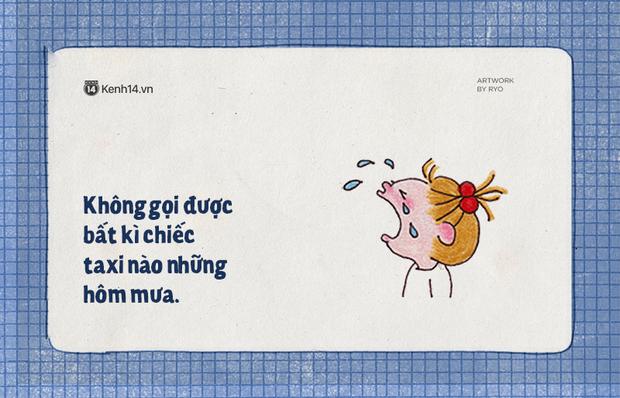 Sài Gòn những ngày mưa là chỉ muốn buông xuôi hết, mặc kệ đúng sai để nằm dài ra ngủ - Ảnh 1.