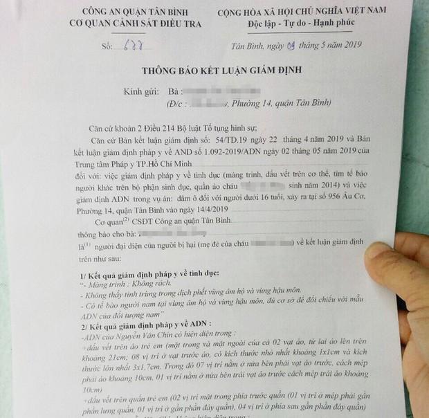 Tạm giam gã xe ôm 60 tuổi sàm sỡ bé gái 5 tuổi tại phòng trọ sau gần 1 tháng người mẹ làm đơn tố cáo - Ảnh 2.