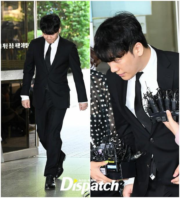 Seungri đã có mặt tại tòa để chờ lệnh bắt: Vẫn bình tĩnh dù cảnh sát xác nhận giữ bằng chứng mua dâm - Ảnh 5.