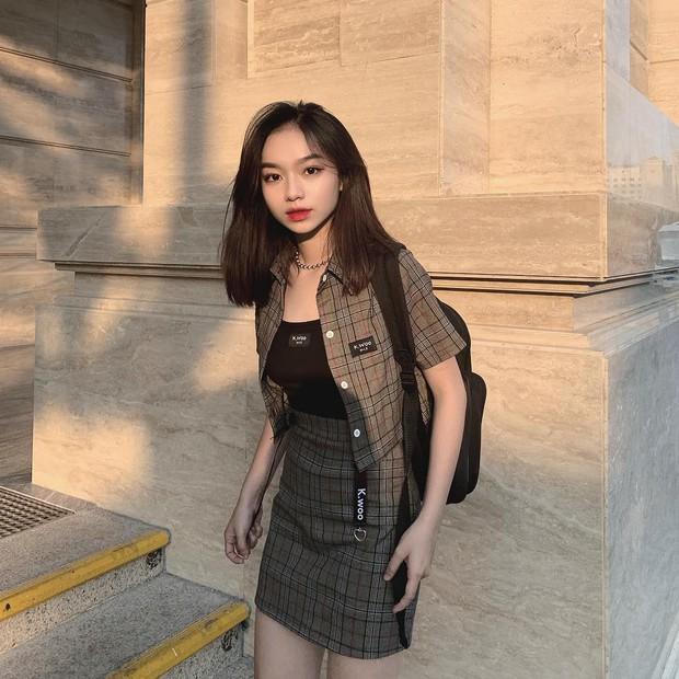 Girl xinh 2000 sở hữu cái tên lạ Trần Nhã Ca, tiết lộ chẳng mấy khi phải dùng đến phần mềm chỉnh ảnh vì lí do này - Ảnh 4.