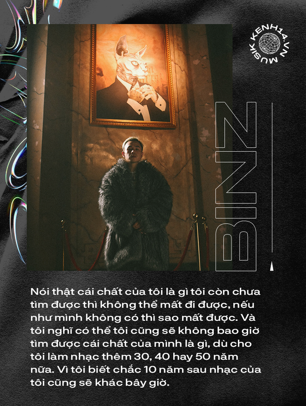 """BinZ: """"Tôi đang đi trên con đường rất mong manh, ở ranh giới giữa nghệ thuật và suồng sã"""" - Ảnh 3."""
