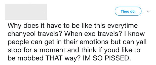 Chanyeol (EXO) bị fan xô đẩy và thúc cùi chỏ vào sườn, Sehun e sợ trước tình trạng hỗn loạn mất kiểm soát tại sân bay - Ảnh 4.