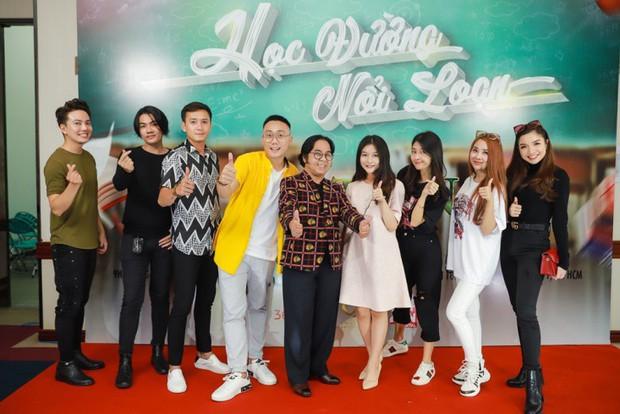 Tronie Ngô, Củ Tỏi hào hứng đến tham dự buổi casting Phim Cấp 3 phần 9 do Ginô Tống làm đạo diễn - Ảnh 1.