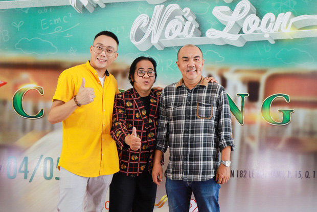 Tronie Ngô, Củ Tỏi hào hứng đến tham dự buổi casting Phim Cấp 3 phần 9 do Ginô Tống làm đạo diễn - Ảnh 2.