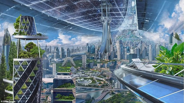 Ông chủ Amazon công bố kế hoạch bí mật xây căn cứ vũ trụ cho cả nghìn tỉ người: Tuyệt đẹp, ai cũng sẽ muốn ở - Ảnh 2.