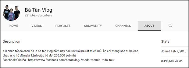 Nông dân làm YouTube: Lại thêm cụ bà đạt 200.000 sub chỉ sau 1 tuần, ra là nhờ lý do dễ đoán này - Ảnh 3.