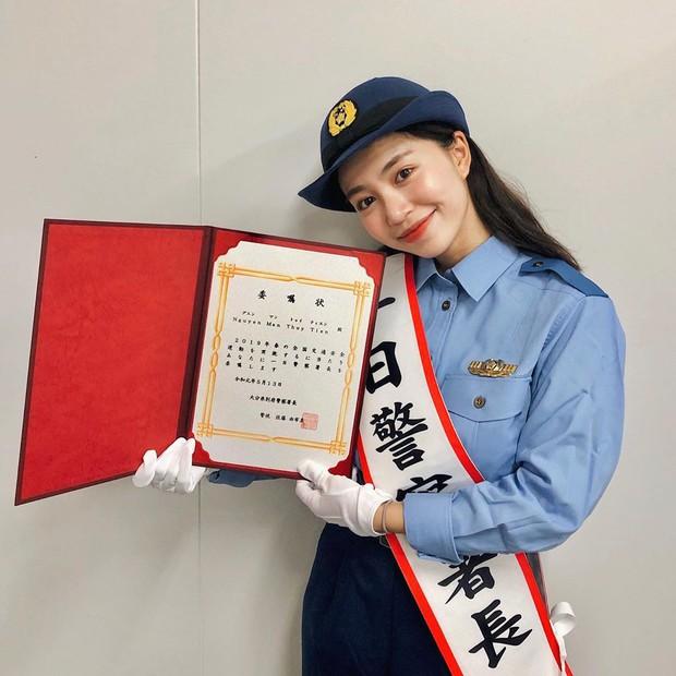 Sự thật phía sau thông tin hot girl Mẫn Tiên được chọn làm cảnh sát trưởng ở Nhật Bản - Ảnh 1.