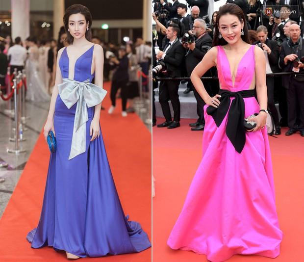 Sao nữ vô danh Cbiz diện đầm màu nổi đến Cannes nhưng sao lại hao hao váy cũ của Đỗ Mỹ Linh? - Ảnh 6.