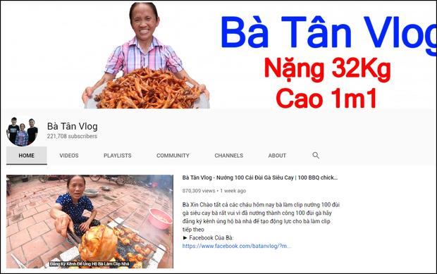 Nông dân làm YouTube: Lại thêm cụ bà đạt 200.000 sub chỉ sau 1 tuần, ra là nhờ lý do dễ đoán này - Ảnh 1.