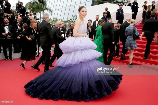 Cannes ngày đầu tiên: Phạm Băng Băng Thái Lan mới chính là mỹ nhân châu Á chặt chém nhất với thần thái bức người - Ảnh 8.
