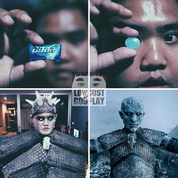 Băng vệ sinh, bông ngoáy tai... đã giúp thánh cosplay siêu rẻ hóa thân thành dàn nhân vật Game of Thrones như thế nào? - Ảnh 5.