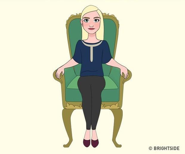 Cách bạn ngồi lên chiếc ghế này sẽ cho biết con người thực sự của bạn như thế nào - Ảnh 8.