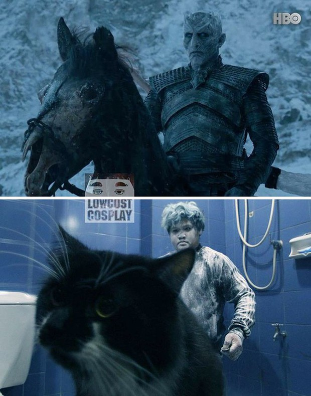 Băng vệ sinh, bông ngoáy tai... đã giúp thánh cosplay siêu rẻ hóa thân thành dàn nhân vật Game of Thrones như thế nào? - Ảnh 6.