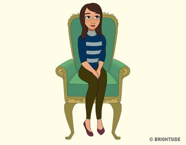 Cách bạn ngồi lên chiếc ghế này sẽ cho biết con người thực sự của bạn như thế nào - Ảnh 12.