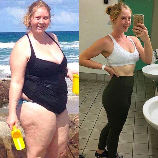 Từ 126kg xuống 57kg, đây là bí quyết giảm cân trong 14 tháng của bà mẹ trẻ 3 con - Ảnh 8.