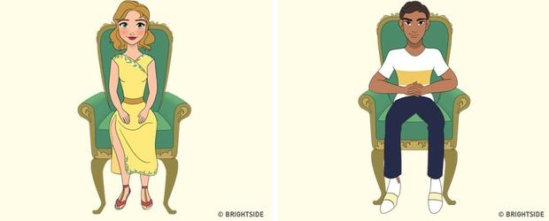 Cách bạn ngồi lên chiếc ghế này sẽ cho biết con người thực sự của bạn như thế nào - Ảnh 3.