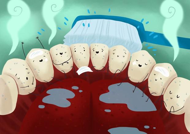 Vi khuẩn trong miệng có khả năng sản sinh ra độc tố di cư lên não và các bộ phận khác của bạn - Ảnh 1.