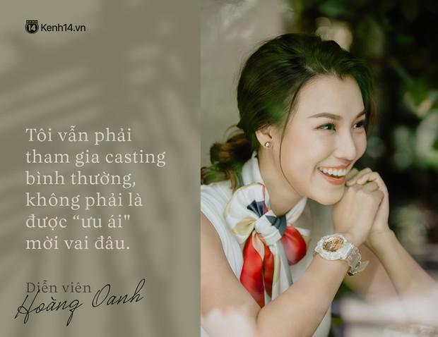 Hoàng Oanh: Năm 18 tuổi từng bỏ vai có cảnh nóng của anh Victor Vũ để giữ lấy tình yêu - Ảnh 2.