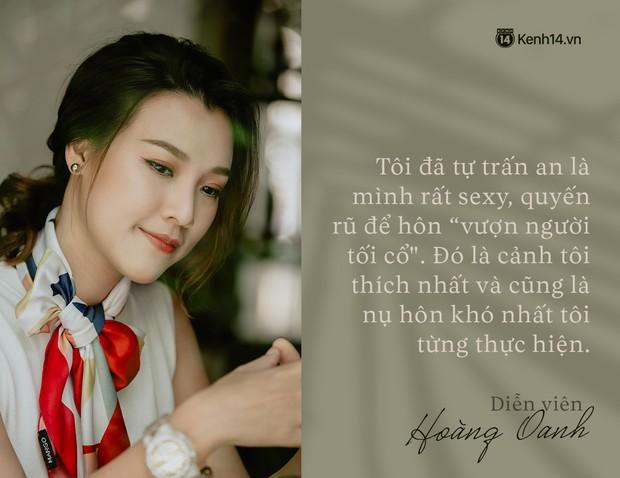 Hoàng Oanh: Năm 18 tuổi từng bỏ vai có cảnh nóng của anh Victor Vũ để giữ lấy tình yêu - Ảnh 5.
