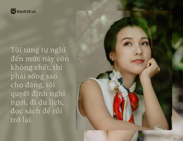 Hoàng Oanh: Năm 18 tuổi từng bỏ vai có cảnh nóng của anh Victor Vũ để giữ lấy tình yêu - Ảnh 12.