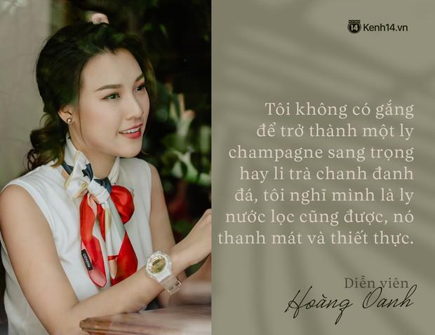 Hoàng Oanh: Năm 18 tuổi từng bỏ vai có cảnh nóng của anh Victor Vũ để giữ lấy tình yêu - Ảnh 13.