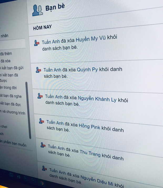 Bạn gái mượn Facebook hôm trước, hôm sau đã thấy cả dàn gái xinh bốc hơi khỏi friend list: Ghen gì lạ lùng! - Ảnh 1.