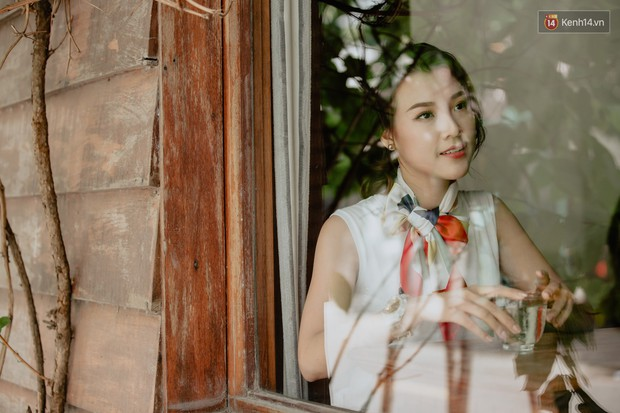Hoàng Oanh: Năm 18 tuổi từng bỏ vai có cảnh nóng của anh Victor Vũ để giữ lấy tình yêu - Ảnh 4.