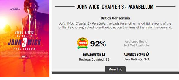 Khán giả chia phe tranh cãi về John Wick 3: Người khen đỉnh của đỉnh, kẻ chê vô lý bỏ xừ! - Ảnh 2.