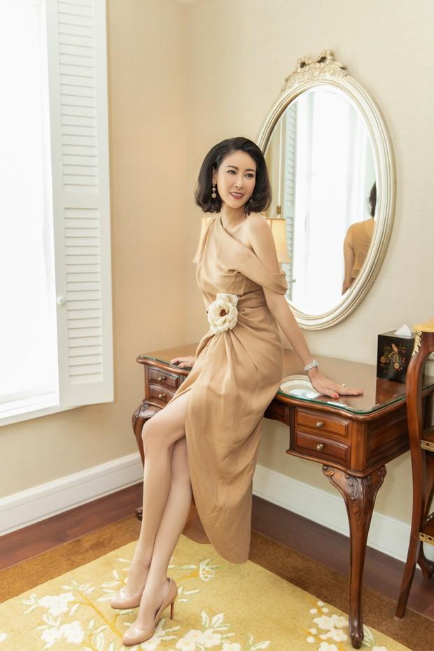 Đặng Thu Thảo, Lê Thúy hội ngộ cùng dàn mỹ nhân không tuổi Vbiz trong tiệc của Hoa hậu Hà Kiều Anh - Ảnh 4.