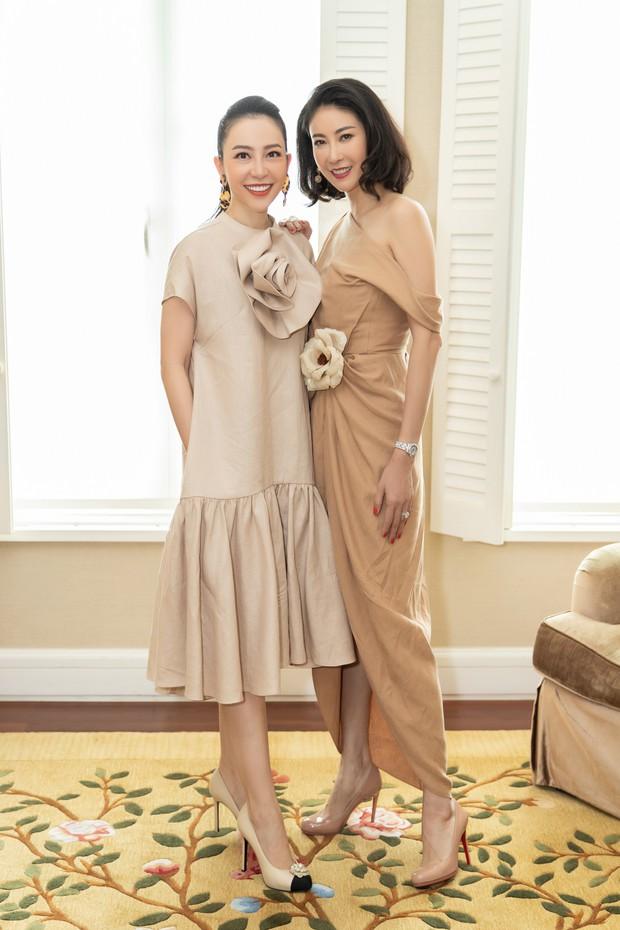 Đặng Thu Thảo, Lê Thúy hội ngộ cùng dàn mỹ nhân không tuổi Vbiz trong tiệc của Hoa hậu Hà Kiều Anh - Ảnh 6.