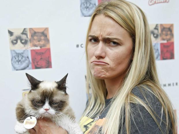 Grumpy Cat - cô mèo cáu kỉnh nhất thế giới với hơn 8 triệu người theo dõi đã qua đời - Ảnh 6.