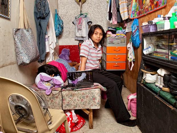 Phòng trọ của sinh viên trên thế giới: Nơi xịn sò như khách sạn 5 sao, nơi tối tăm chật chội hơn cả nhà ổ chuột tại Việt Nam - Ảnh 9.