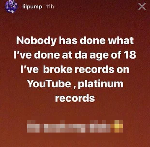 Ngông cuồng xúc phạm Taylor Swift và cái kết cực đắng cho rapper Lil Pump! - Ảnh 4.