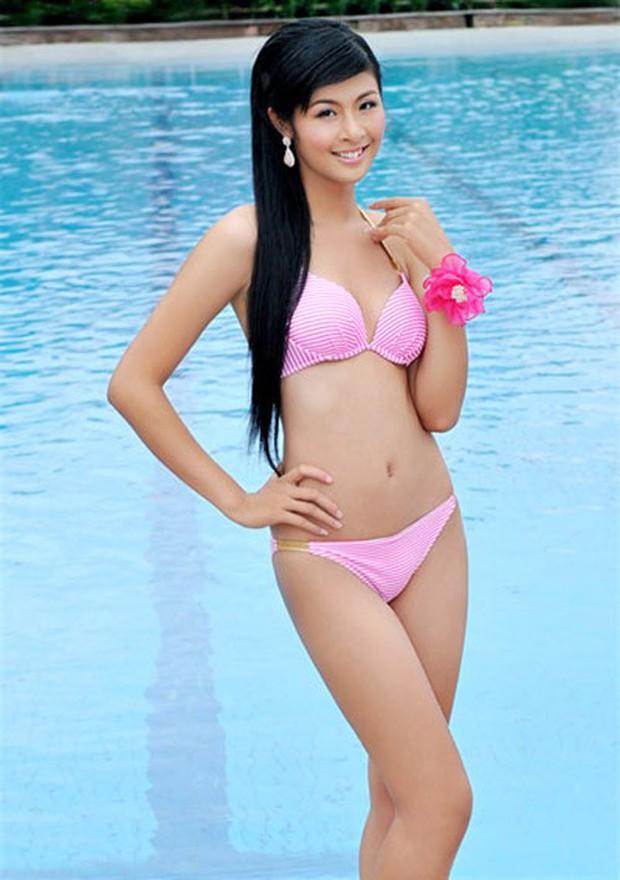 Hiếm hoi thấy Ngọc Hân diện áo tắm khoe body nóng bỏng sau 9 năm đăng quang Hoa hậu Việt Nam - Ảnh 5.