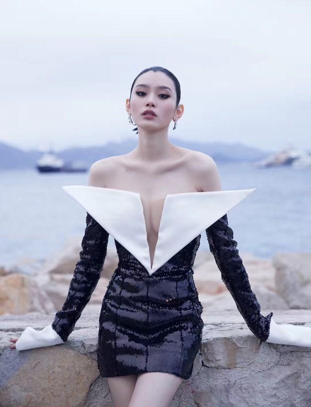 Sự kiện bên lề Cannes: Ming Xi - Sui He cạnh tranh sắc vóc khốc liệt, Lưu Đào - Quan Hiểu Đồng chẳng chịu lép vế - Ảnh 4.