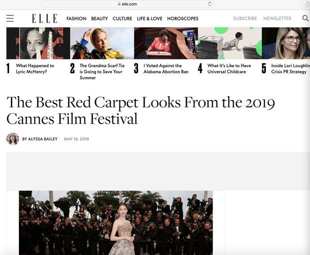 Không có Phạm Băng Băng, đây là nữ thần Trung Quốc đẹp nao lòng, gây bão với truyền thông quốc tế tại Cannes - Ảnh 4.
