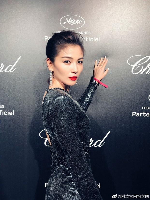 Sự kiện bên lề Cannes: Ming Xi - Sui He cạnh tranh sắc vóc khốc liệt, Lưu Đào - Quan Hiểu Đồng chẳng chịu lép vế - Ảnh 16.