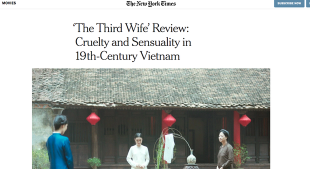 Gây tranh cãi vì cảnh nóng của diễn viên chưa đủ tuổi, báo chí nước ngoài nhận xét gì về Vợ Ba? - Ảnh 2.