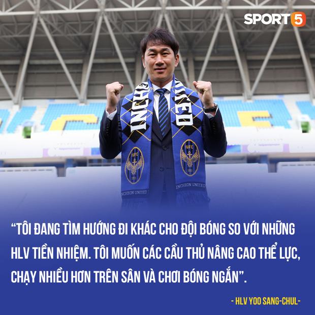 Tân HLV Incheon United cấm tiệt bóng dài, Công Phượng có mừng thầm? - Ảnh 1.