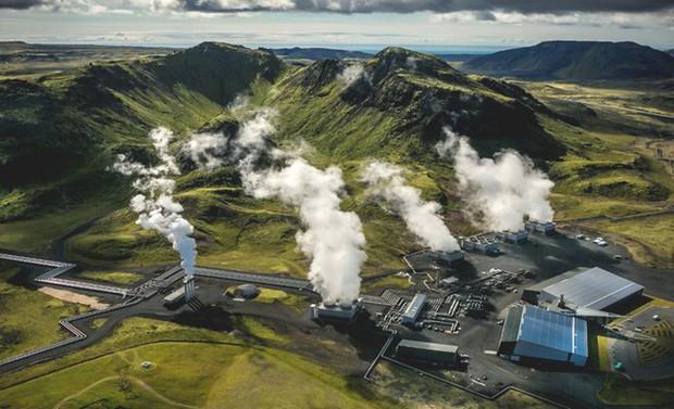 """Iceland thử nghiệm thành công phương pháp """"bắt và nhốt"""" CO2 vĩnh viễn vào trong lòng đất - Ảnh 1."""