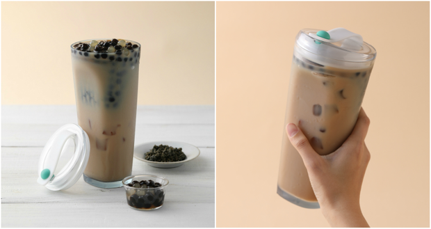 Phát minh ly uống trà sữa trân châu không cần ống hút hứa hẹn sẽ thay đổi cuộc đời bạn - Ảnh 2.