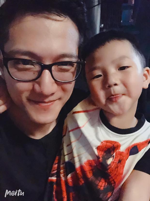 Sau mọi ồn ào hậu ly hôn, Chí Nhân cùng gia đình tổ chức tiệc sinh nhật 4 tuổi cho con trai, hoàn toàn vắng mặt Thu Quỳnh - Ảnh 3.