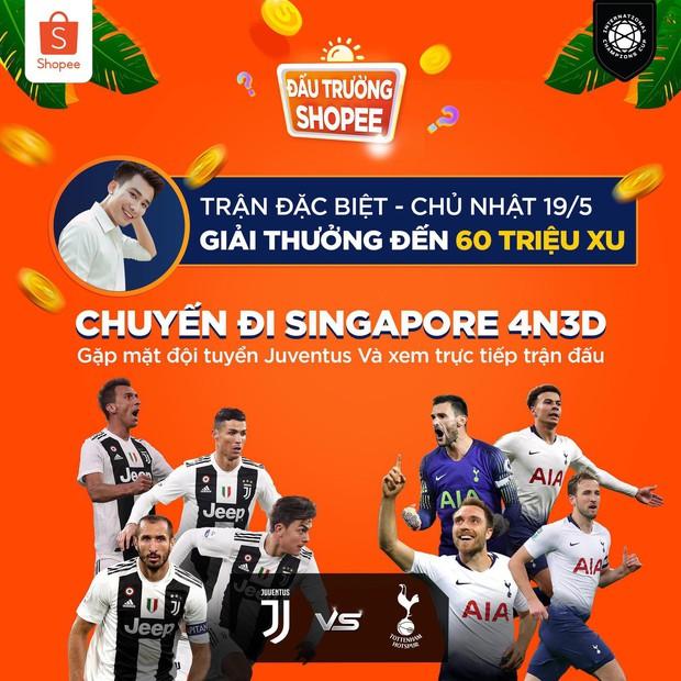 """Vừa thông báo tặng vé gặp BlackPink, Shopee lại """"chơi lớn"""" tặng 4 suất sang Singapore xem MU, Inter, Juve, Tottenham tại giải ICC - Ảnh 1."""