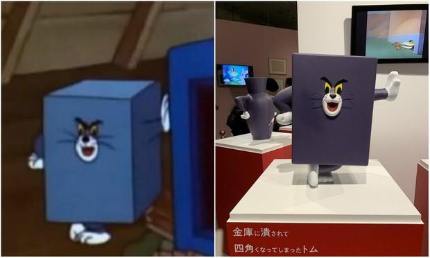 Bảo tàng Nhật Bản tưởng nhớ những pha bị troll của mèo Tom trong phim đang khiến cả cộng đồng mạng phát sốt - Ảnh 6.