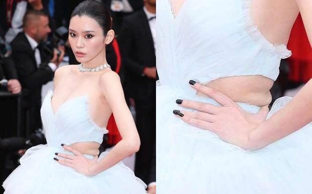Vòng eo ngấn mỡ tại Cannes là minh chứng cưới chạy bầu của Ming Xi với thiếu gia tỷ đô Hà Du Quân? - Ảnh 3.