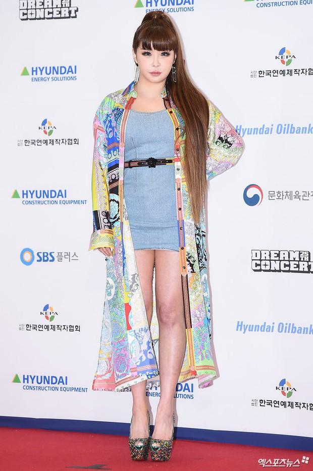 Thảm đỏ Dream Concert 2019: Park Bom lên cân nhưng vẫn chiếm spotlight của Red Velvet và cả dàn nữ thần Kpop - Ảnh 1.