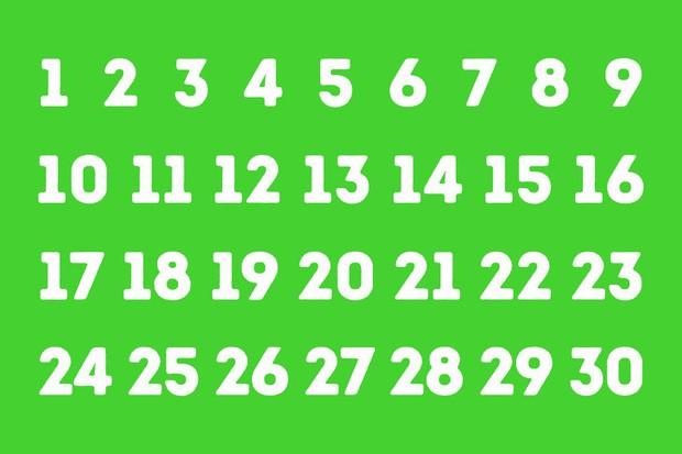 Phải cực kỳ thông minh bạn mới khám phá được bí ẩn chọn số theo quy luật màu sắc này - Ảnh 1.