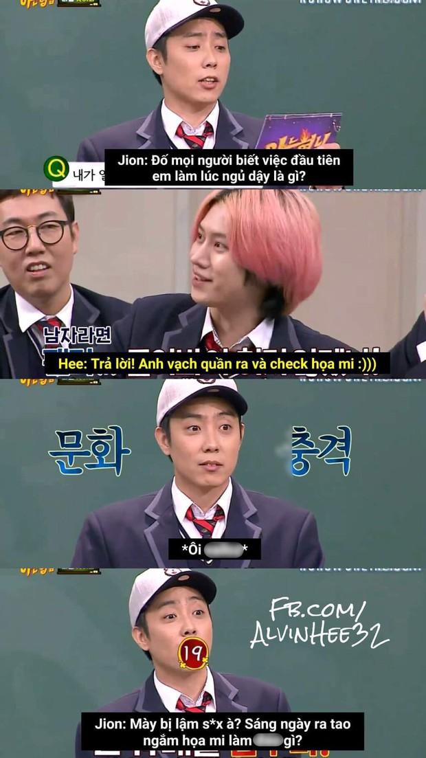 Chú idol đanh đá nhất showbiz Hàn: Tự nhận thứ 2, thánh khẩu nghiệp Heechul cũng không dám đứng nhất - Ảnh 4.
